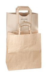 Paper shopping bags