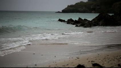 Plage des grands sables belle-ile-en-mer