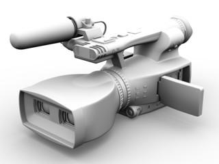 Television dual-lensed 3D camcorder
