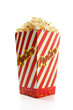 Classic box of theater popcorn