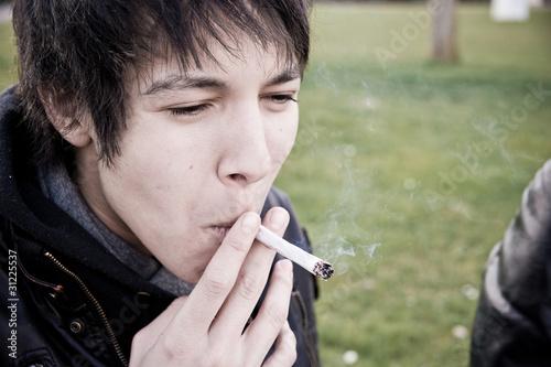 fumée bouche