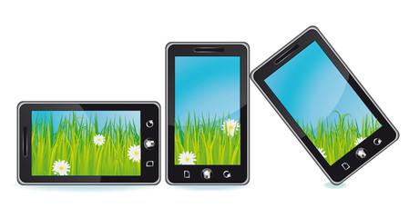 Nature smartphones