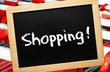 Shopping ! - Konzept Einkaufen