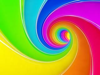 Rainbow swirl © Denys Rudyi