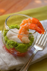 Avocado Shrimp Appetizer