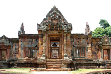 Front arched Doorways of Prasat Muang Tam Sanctuary, Buriram