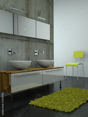 3d rendering badschrank mit waschbecken stock photo and royalty free images on. Black Bedroom Furniture Sets. Home Design Ideas