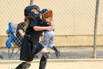 Catching U9 softball
