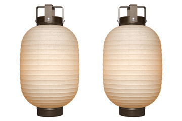 Paper Lantern (basic) with clipping path
