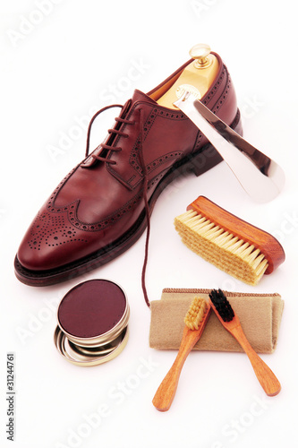 classic, brown, boot, clean, set, - 31244761