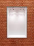 empty boutique showcase poster