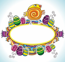 Holiday Easter Frame with space for your text 5