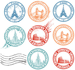 City stamps collection