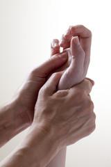 ayurveda et massage de la main