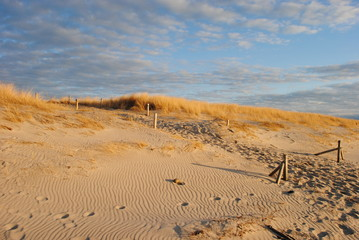 Magnificent Dune at the Baltic Sea