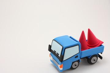 粘土のトラック
