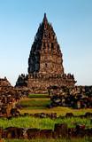 Prambanan hindu temple candi yogyakarta java indonesia asia poster