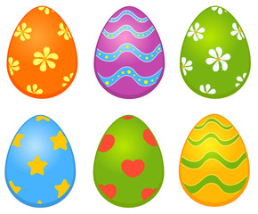 Easter colored egg. Easter card