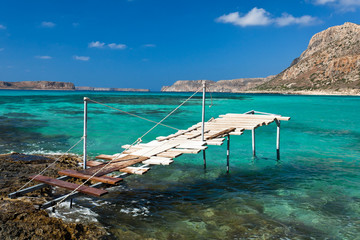 Balos bay (Crete, Greece)