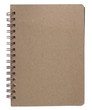 brown notepad right page