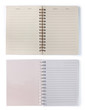 Blank notebook binder. isolated over white