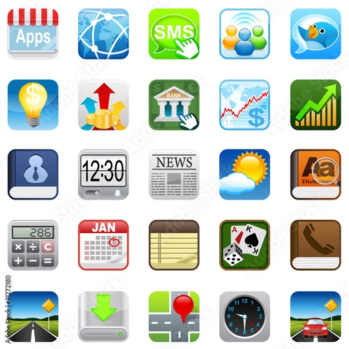 Phone web icons