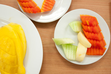 Slice of fruit