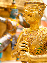 Giant guard in The Grand Palace ,Bangkok ,Thailand