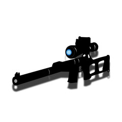 Rifle of the sniper