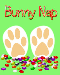 Easter bunny nap