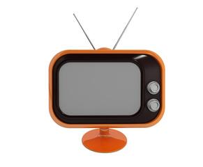 Fernseher Retro (mit Freistellungspfad)