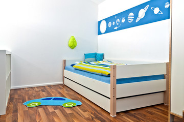 Children's Playroom with bed - nursery