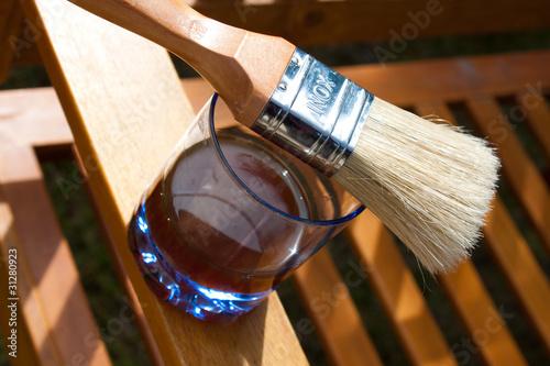 Traiter le bois à l'huile