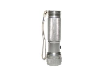 a metal flashlight