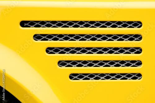 Car Grill Vector Car Engine Grill Closeup