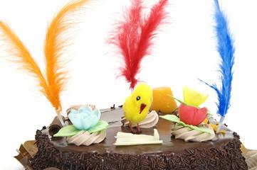mona de pascua, tarta típica de España el Lunes de Pascua