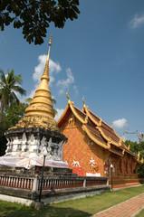 Phrathat Lampang Luang at Lampang province Thailand