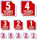 Warranty stickers poster
