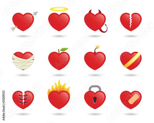 Broken heart icon sad emoticon broken heart icon vector broken heart