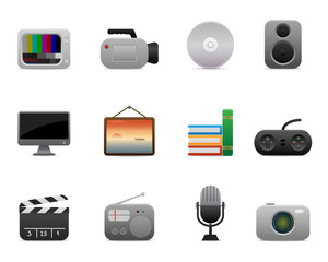 smooth series > multimedia icons