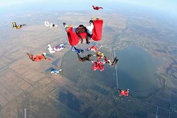 Skydivind photo
