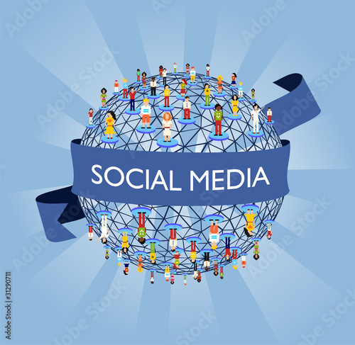 World social media network