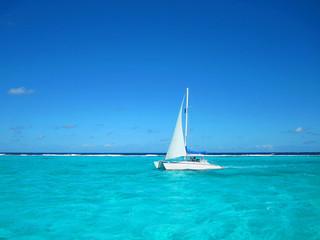 Segelturn in der Karibik