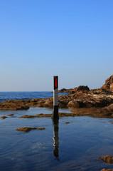 delineatore al mare