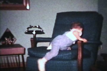 Little Boy Cannot Sit Still (1963 - Vintage 8mm film)