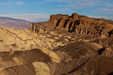 Red Cathedral from Zabriskie Point, Death Valley