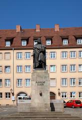Abrecht-Dürer-Denkmal in Nürnberg