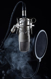 mikrofon im nebel