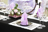 close-up catering table set - 31297153