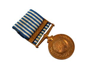 UN Peacekeeping Medal Korea